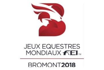 I WEG di Bromont 2016 hanno il loro logo