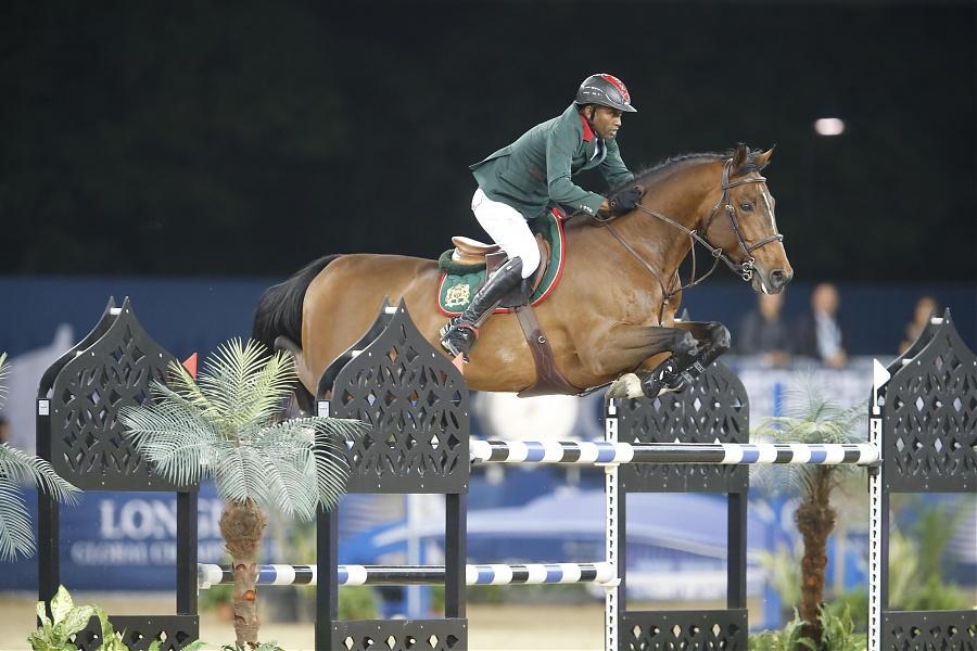 Global Champions Tour Doha, Emanuele Gaudiano wins a class