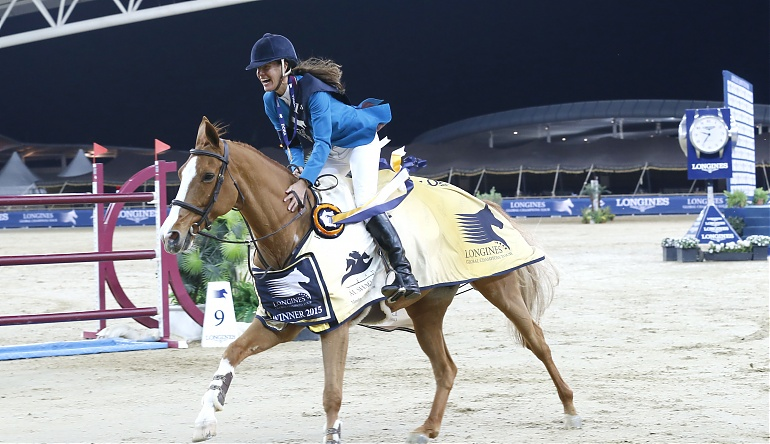 Fit for Victory: Luciana Diniz is crowned 2015 Champion