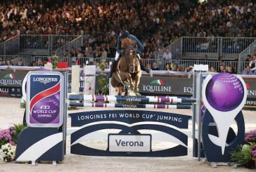 Longines FEI World Cup Grand Prix Verona, Simon Delestre entra nell'albo d'oro