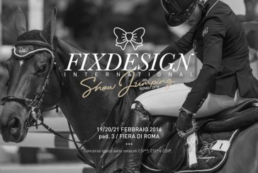 Cavalli a Roma, al via il Fixdesign International Show Jumping