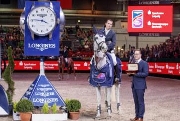 Gregory Wathelet conquista Lipsia