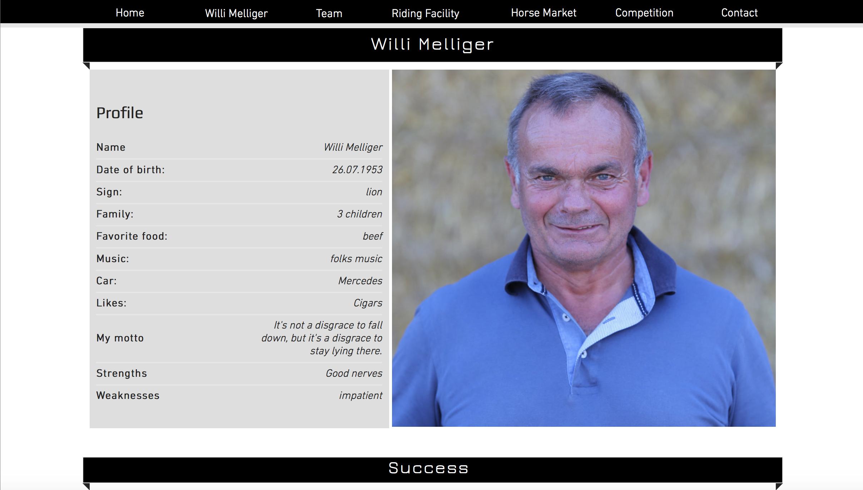 Intervento al cuore per Willi Melliger