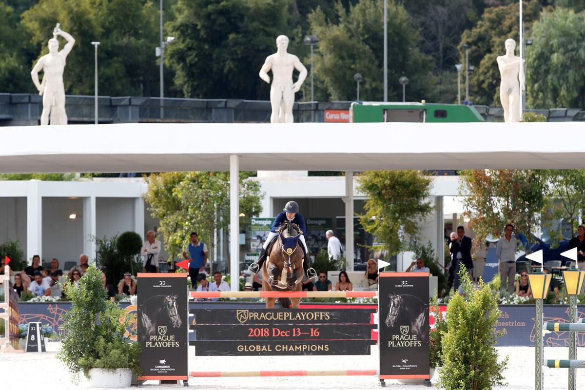 Longines Global Champions Tour Rome,  furia dei Prague Lions, vittoria di Ahlmann